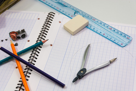Here are objects representing the start of school