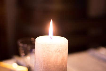 dark: Candle in the dark