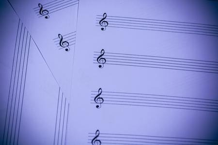 partition musique: Partition de fond