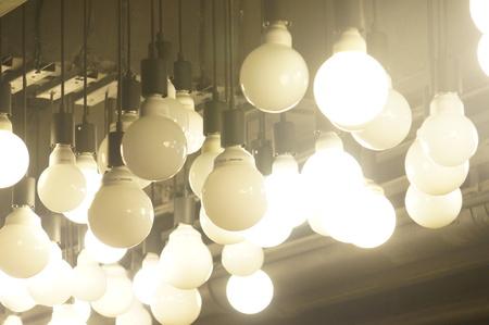 decorating: Decorating light bulb.