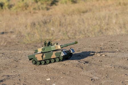 barrel bomb: tank races across the desert