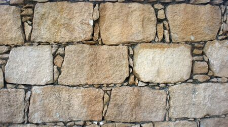 wall textures: Old Cobblestone wall. Background and textures photography.