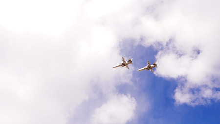 thunderbird: Group of military aircraft in the sky