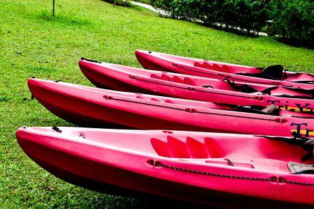 cayak: Cayak boat Stock Photo