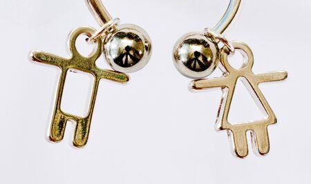 key chain man and woman2 photo