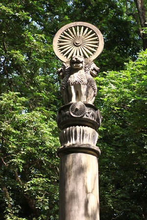 Thammajak,symbol of knowledge of Buddhism