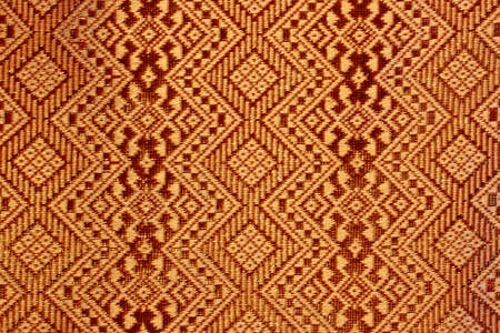 old thai texture from antique woman skirt