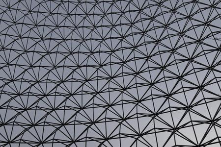 metall: Image of the gray metall lattice wall