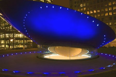 copule: Blue copule Stock Photo