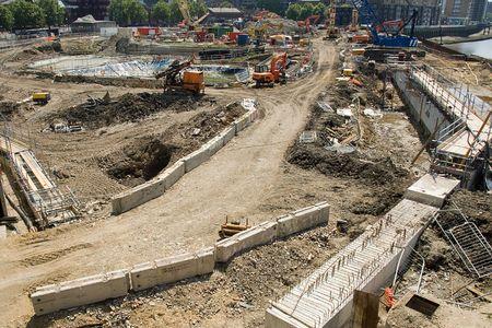 cantieri edili: Molto grande sito