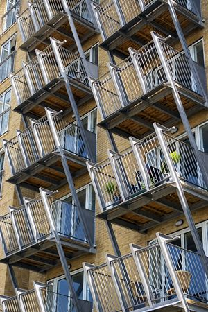 Balconys Stock Photo - 3588437