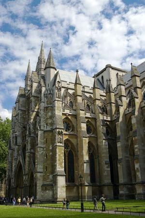 abbey: westminster abbey Stock Photo