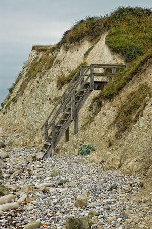 stairs on beach Stock Photo - 3878284