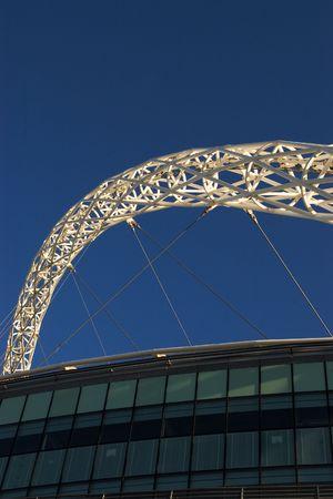 Modern stadium Stock Photo