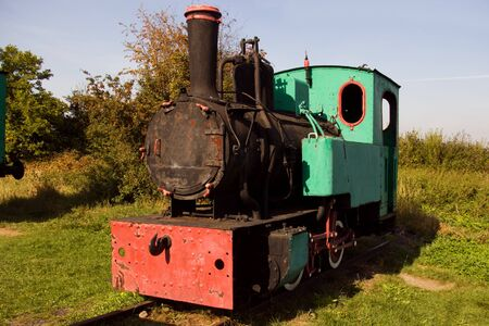 the old locomotive photo