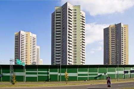 the facade of the skyscraper Stock Photo - 12200783