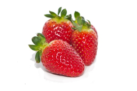 fresh strawberry on the clean isolated background Stock Photo - 12876997