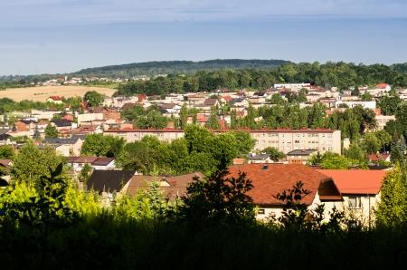 Radzionkow- small town at upper Silesia, Poland Stock Photo