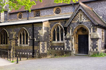 catholic church: Small medieval church somewhere on Croydon in London
