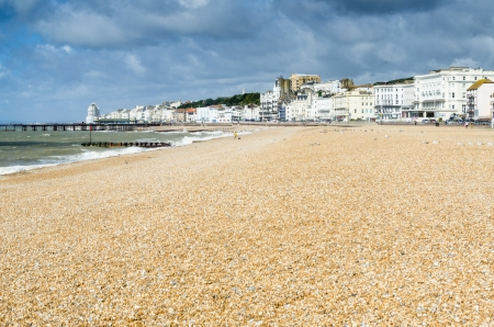 hasting - a small tourist town in east england