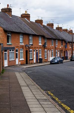 Reihenhäuser typisch britische Stadtentwicklung