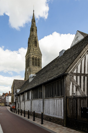 Leicester Guildhall, the oldest building in England Stock Photo