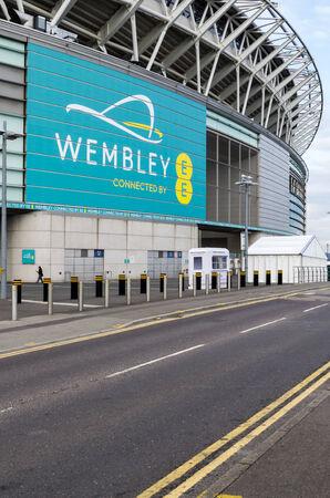 wembley: LONDON - JUly 5 : Wembley Stadium, London on July 05, 2014.