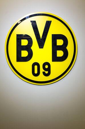 DORTMUND, GERMANY - JULY 13: BVB Borussia Dortmund Logo July  13, 2014, in Dortmund, Germany.