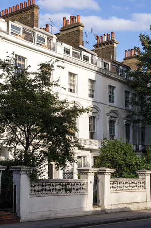 Victorian townhouse, one of many in London
