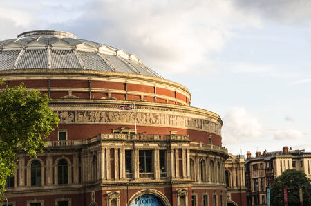 London, United Kingdome 16 AUGUST 2014 Famous Royal Albert hall in London