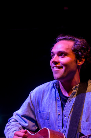 andy: LONDON, UK 18th march. Show of Andy Jordan in the scale. London 18.03.2015