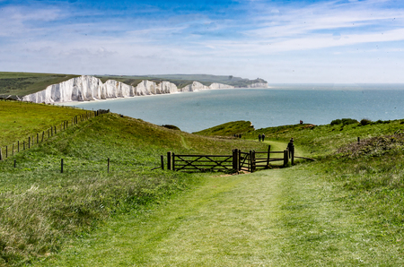 Seven Sisters Country Park in Sussex, UK