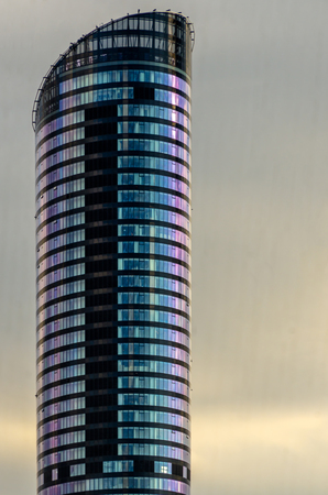 pl: wrOCLAW,PL 23 JUNE - skytower- highest building in Wroclaw,Poland - 23 June 2015 Editorial