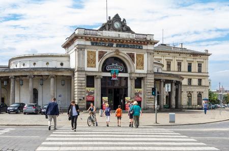 pl: WROCLAW,PL 23 JUNE - stacyjkowo - Myseum of model railway Wroclaw,Poland - 23 June 2015