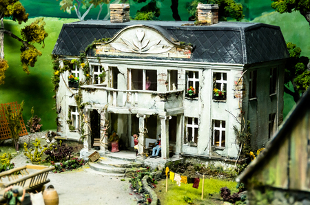 approximation: WROCLAW,PL 23 JUNE - stacyjkowo - Myseum of model railway Wroclaw,Poland - 23 June 2015