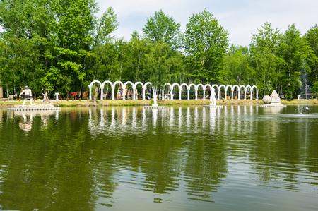 Zator, Poland - may 27. Zatorland - amusment and theme park in Poland. Editorial