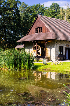 a watermill somewher in Poland 版權商用圖片 - 90727762