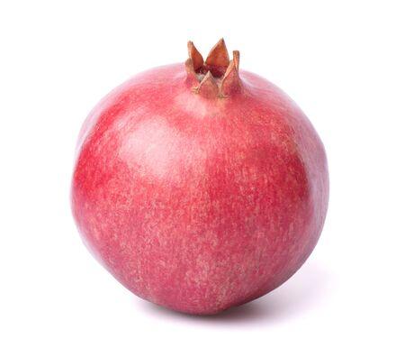 a pomegranate: One pomegranate in closeup