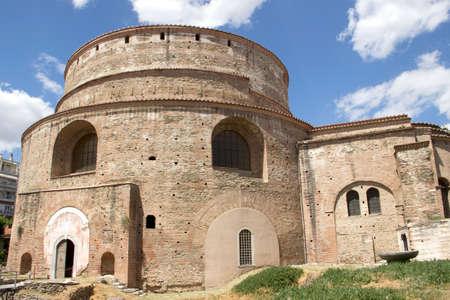 thessaloniki: The Christian Orthodox Church of the Rotonda in Thessaloniki Stock Photo