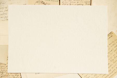 telegrama: Papel y cartas Viejo fondo
