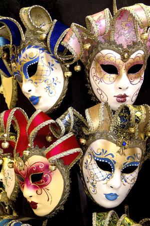 venetian: Venetian masks Stock Photo