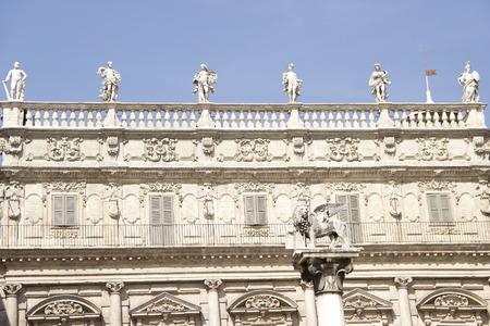 verona: Palazzo Maffei in Verona, Italy