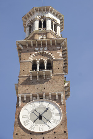verona: Bell tower in Verona, Italy