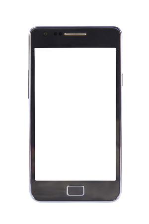 zellen: Handy isoliert auf wei�em