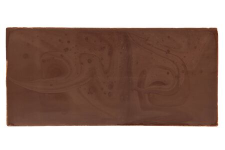bar of chocolate: Chocolate bar on a white background