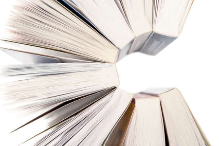 open up: Open books background