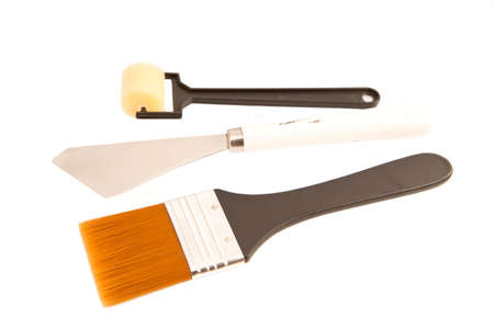bloc: Painting equipment isolated