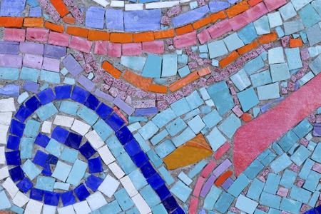murano: Colorful murano tiles surface Stock Photo