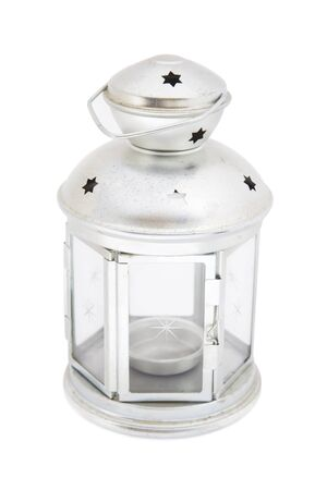 tin: Tin lantern Stock Photo
