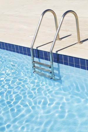 Swimming pool with stairs Zdjęcie Seryjne